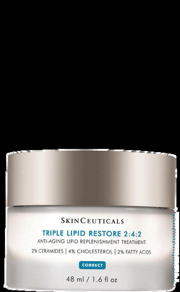 triple lipid restore 2 4 2 anti aging cream dry skin skinceuticals