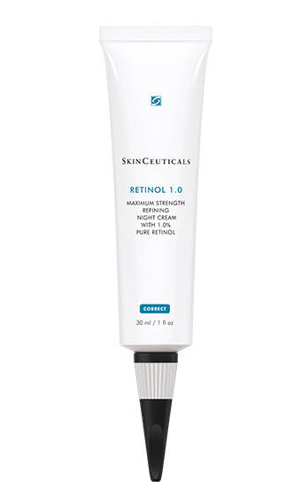 Pure-Retinol-Cream-Retinol-1.0-SkinCeuticals - Summer to Fall Skin Care & Makeup in case you care to peek in my Fierce Over 40 arsenal.