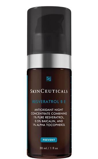 Resveratrol B E Nighttime antioxidant serum for face