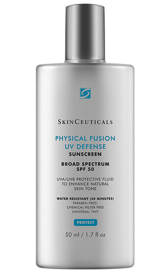 Zinc oxide sunscreen physical fusion uv defense spf 50 skinceuticals 883140000778